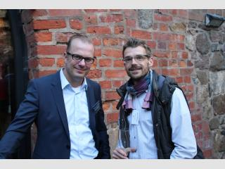 CEO-Day S-Beteiligungen - Investmentmanager Christian Lenk und Nobert Schlesiger (DEV)